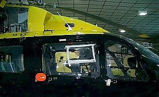 helicopter window polishing