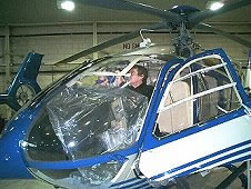 helicopter windscreen polishing