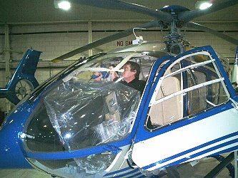 helicopter canopy polishing