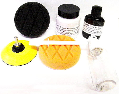Headlight Polishing Kit