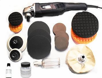 Plastic Polishing & Scratch Removal Kit